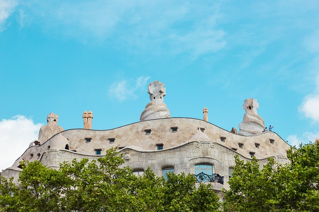 gaudi architectuur Barcelona