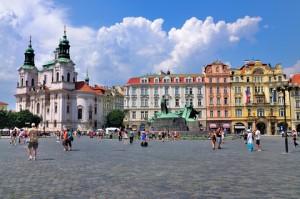 Citytrip Praag Plein