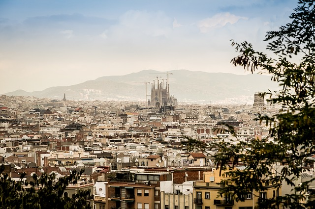 citytrip barcelona panorama