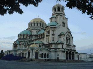 Nevski kathedraal in Sofia