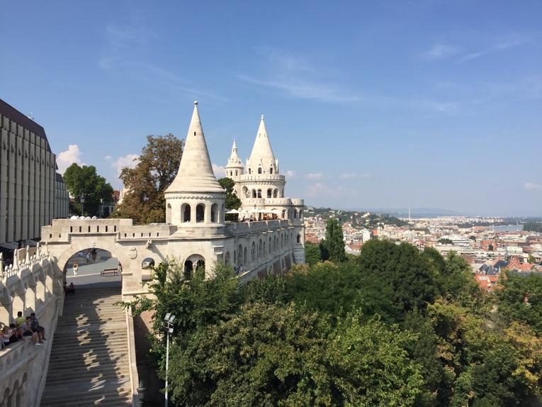 Vissersbastion in Boedapest Hongarije