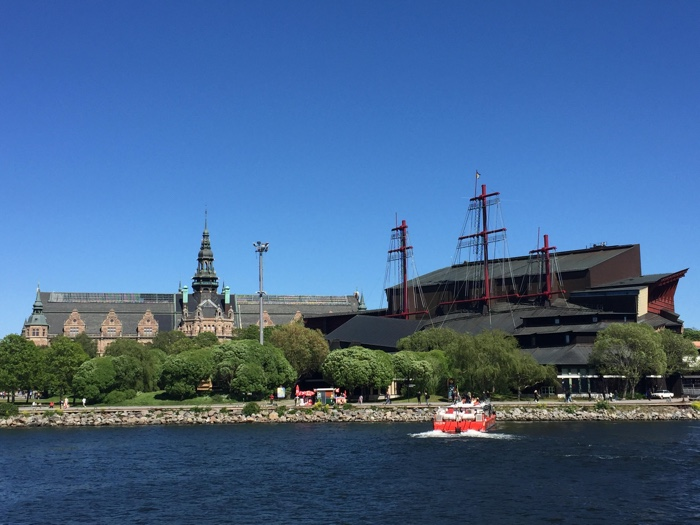 Stockholm vanaf het water