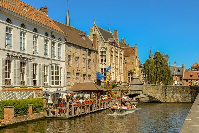 kanaal in Brugge