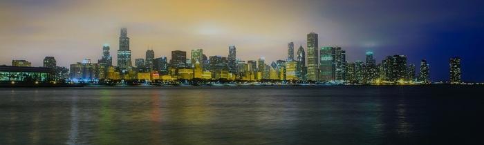 citytrip chicago skyline